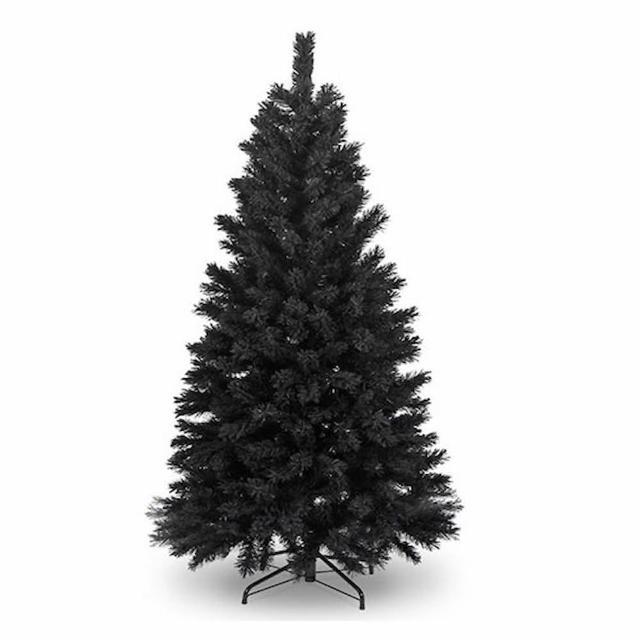 【摩達客】台灣製-8尺/8呎-240cm時尚豪華版黑色聖誕樹-裸樹(不含飾品/不含燈/本島免運費)/