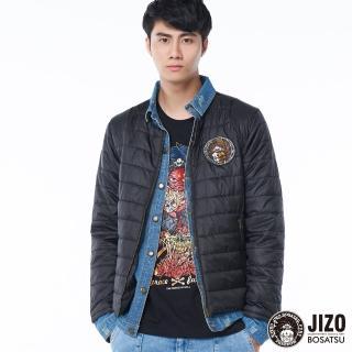 【BLUE WAY】丹寧拼接假兩件發熱棉外套 - 地藏小王