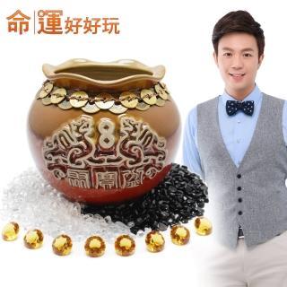 【命運好好玩】湯鎮瑋-十帝豐隆貔貅聚寶盆超值組