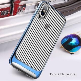 【USAMS】Apple iPhone X 欣浪系列旅行箱手機殼/保護殼(背蓋防摔殼)