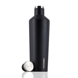 【CORKCICLE 酷仕客】Waterman戶外系列三層不鏽鋼易口保溫瓶-740ml(消光黑)