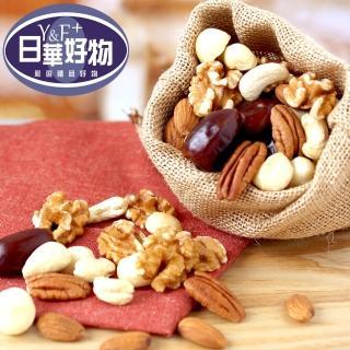 日華好物原味綜合堅果椰棗超值組