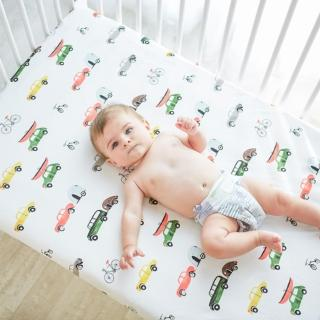 【荷蘭 Muslintree】純棉嬰兒床單床笠 嬰幼兒床罩