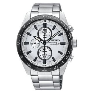 【SEIKO 精工】精工 CRITERIA登躍極致太陽能運動腕錶/SSC653P1(V176-0AV0W)