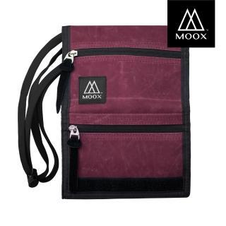 【MOOX 穆克斯】O9MBL 輕量旅行收納包(刷舊酒紅)