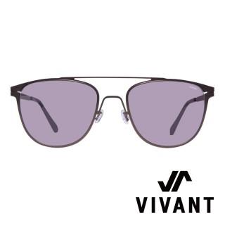 【VIVANT】江南奢侈品牌金屬太陽眼鏡(BERITE C4 深褐)