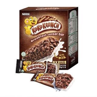 【Nestle 雀巢】可可脆片穀物棒25g(每盒6入)