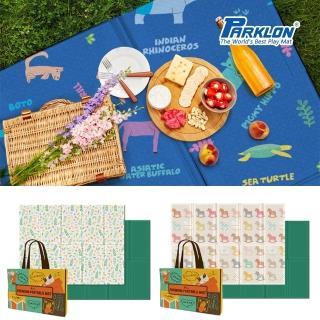 【PARKLON】韓國帕龍無毒地墊 - 攜帶型單面立體回紋摺疊墊(彩色木馬)