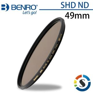 【BENRO百諾】圓形減光鏡 SHD ND 8/16/32 -49mm(勝興公司貨)