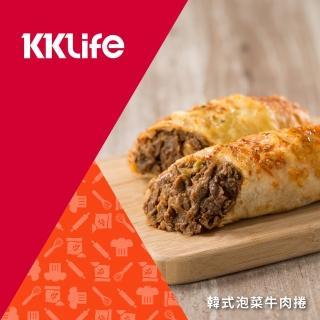 【KKLife-紅龍】韓式泡菜牛肉捲(180g/條; 1條/包)