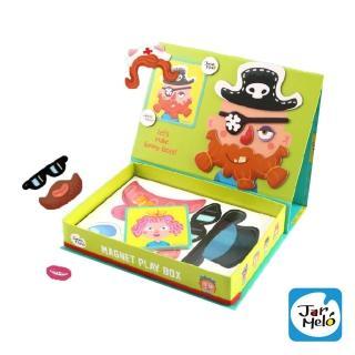 【西班牙 JoanMiro】磁性人物裝扮趣味遊戲盒