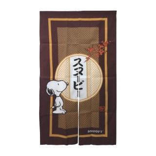 【SNOOPY 史努比】日式長門簾HB854紅色(150x83cm)