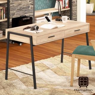 【Hampton 漢汀堡】馬歇爾4尺書桌(書桌/桌子/辦公桌)