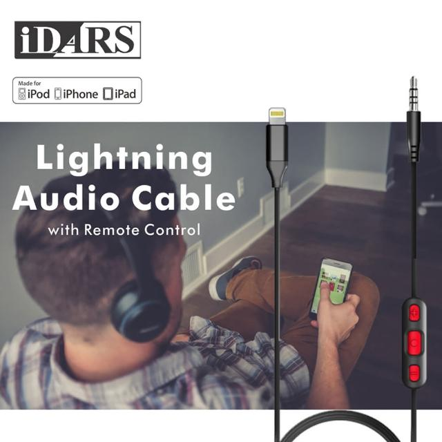 【IDARS】Apple Lightning專用音頻轉接線(IPHONE/IPAD)