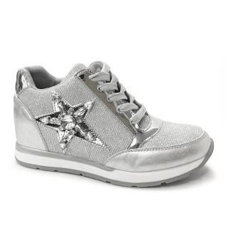 eclair璀璨寶石風華美腿神器增高鞋