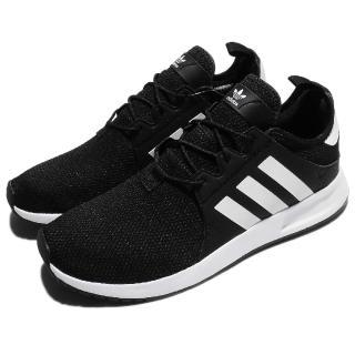 【adidas 愛迪達】休閒鞋 X_PLR 復古 反光 男鞋 女鞋 愛迪達 低筒 運動 慢跑 情侶鞋 男 女 黑 白(CQ2405)