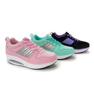 美國OHHO馬卡龍律動氣墊健美鞋-買1送1