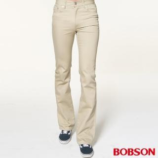 【BOBSON】男款低腰喇叭褲(1696-72)