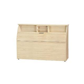 【AS】凱撒5尺原切橡木床頭箱-154.6x30x112.5cm