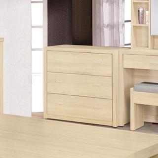 【AS】塞西爾2.5尺原切橡木三斗櫃-83x48.5x76cm