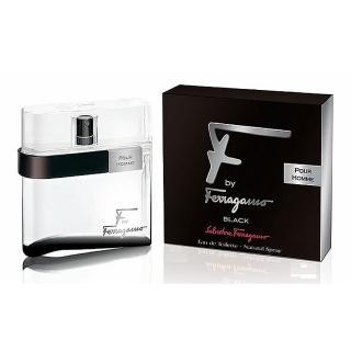 【Salvatore Ferragamo】F By Ferragamo Black 夜色男性淡香水(100ml)