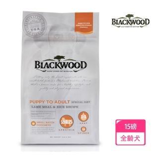 【BLACKWOOD 柏萊富】功能性全齡護膚亮毛配方-15磅(羊肉+糙米)