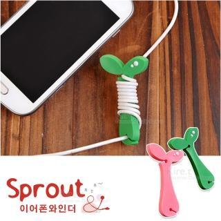 【kiret】韓版 小樹苗繞線器-超值4入(耳機 mp3 集線器 繞線器 捲線器)