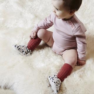 【POCONIDO】英國手工嬰兒鞋(海鸚鵡)