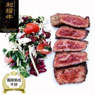 【漢克嚴選 - 超值買一送一】美國產日本級和牛厚切霜降熟成牛排10片組(300g±10%/片-買一送一共20片)