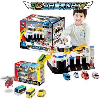 【TAYO】緊急救援中心+快速工具車4件組