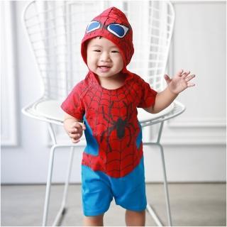 【Baby童衣】蜘蛛人造型連身衣 32004(共1色)
