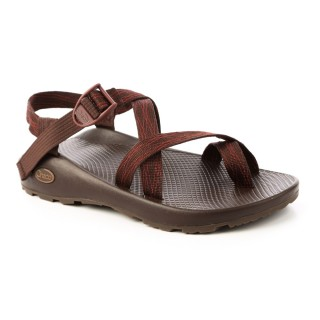 【CHACO】男 越野運動涼鞋-夾腳款CH-ZCM02HE16(斜織咖啡)