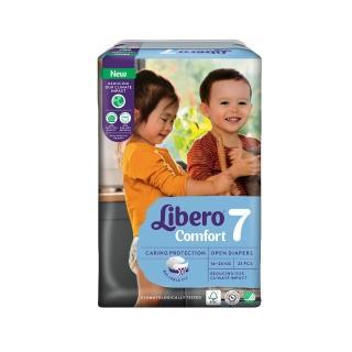【麗貝樂】嬰兒紙尿褲7號(XXL 21片)