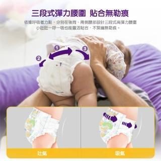 【麗貝樂】嬰兒尿布/紙尿褲 新生兒1號(NB-1 28片x4包/箱購)