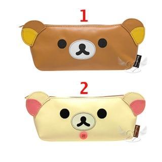 【TDL】拉拉熊懶懶熊懶妹大臉筆袋化妝包收納包 2選1 13635769