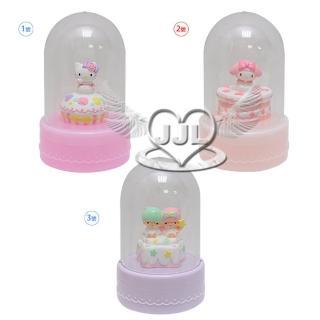 【TDL】HELLO KITTY美樂蒂雙子星飾品盒擺飾收納盒 3選1(10548516)