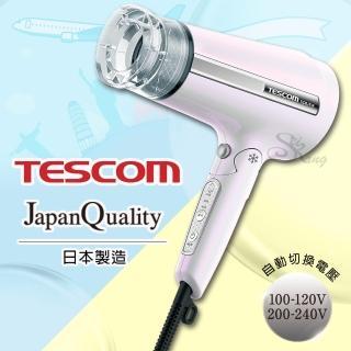 【TESCOM】MIJ自動電壓負離子吹風機 TID6JTW