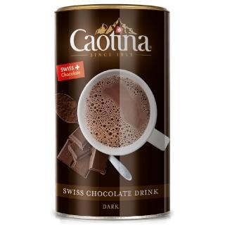 【可提娜Caotina】頂級瑞士黑巧克力粉500g/ 罐(新舊包裝替換期間 商品與圖有些許差異。)