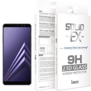 【iMos】Samsung Galaxy A8 2018(2.5D 滿版玻璃螢幕保護貼)