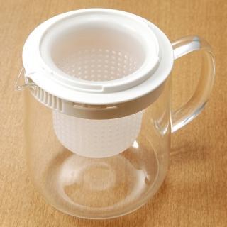 【MUJI 無印良品】耐熱玻璃壺/大