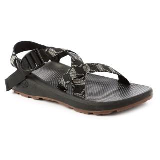 【CHACO】男 越野舒壓運動涼鞋-標準款CH-ZLM01HE05(立方黑)