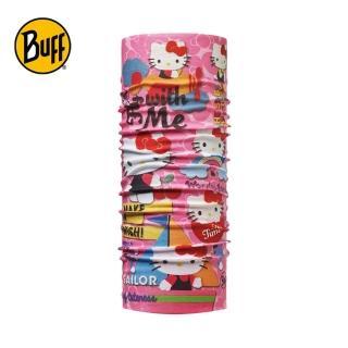 【BUFF】歡樂王國 HELLO KITTY 兒童經典頭巾(BF113199-538-10)