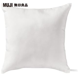 【MUJI 無印良品】聚酯纖維可水洗抱枕