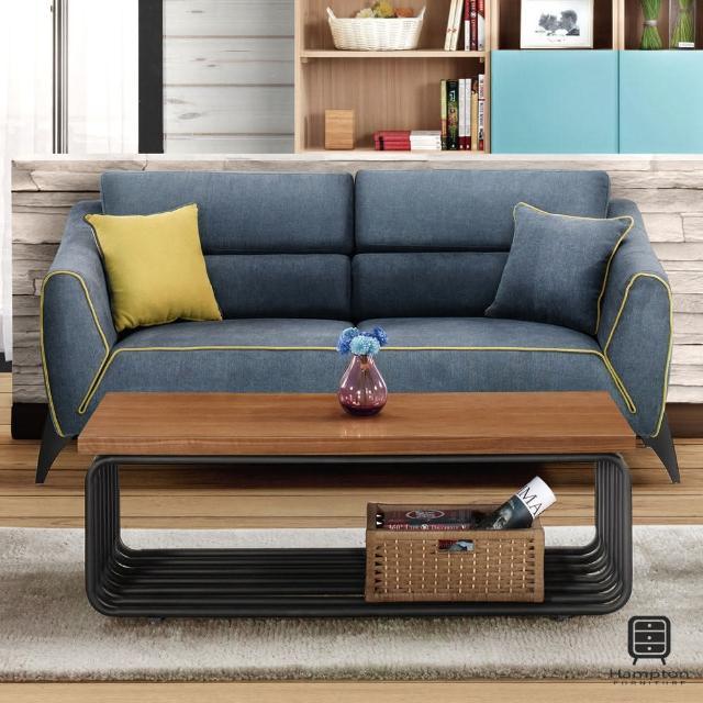 【Hampton 漢妮】伯尼三人椅(沙發/休閒沙發/椅子)