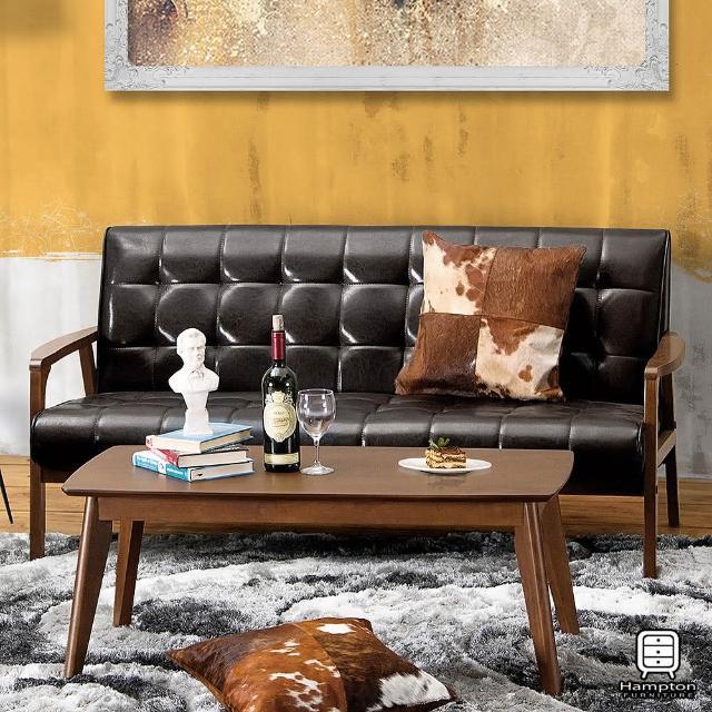 【Hampton 漢妮】弗格斯休閒沙發三人椅(沙發/休閒沙發/椅子)