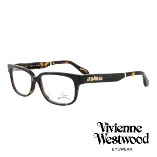 【Vivienne Westwood】英國薇薇安魏斯伍德插畫風格光學眼鏡(琥珀 AN298M04)