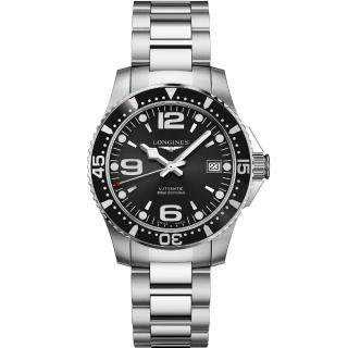 【LONGINES 浪琴】征服者64小時動力儲存機械錶(L37414566)