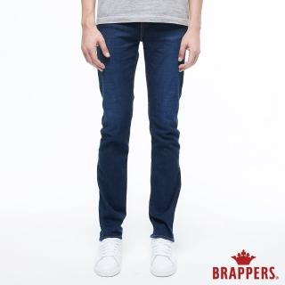 【BRAPPERS】男款 HM-中腰系列-中腰彈性直筒褲(深藍)