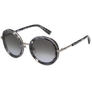 【Salvatore Ferragamo】太陽眼鏡 SF164S(槍色+花漾大理石)