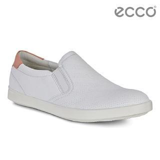 【ecco】AIMEE 經典輕巧休閒鞋(白 24107350915)